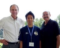 ジム・レーヤー博士と米田功、ジャック・グロッペル博士